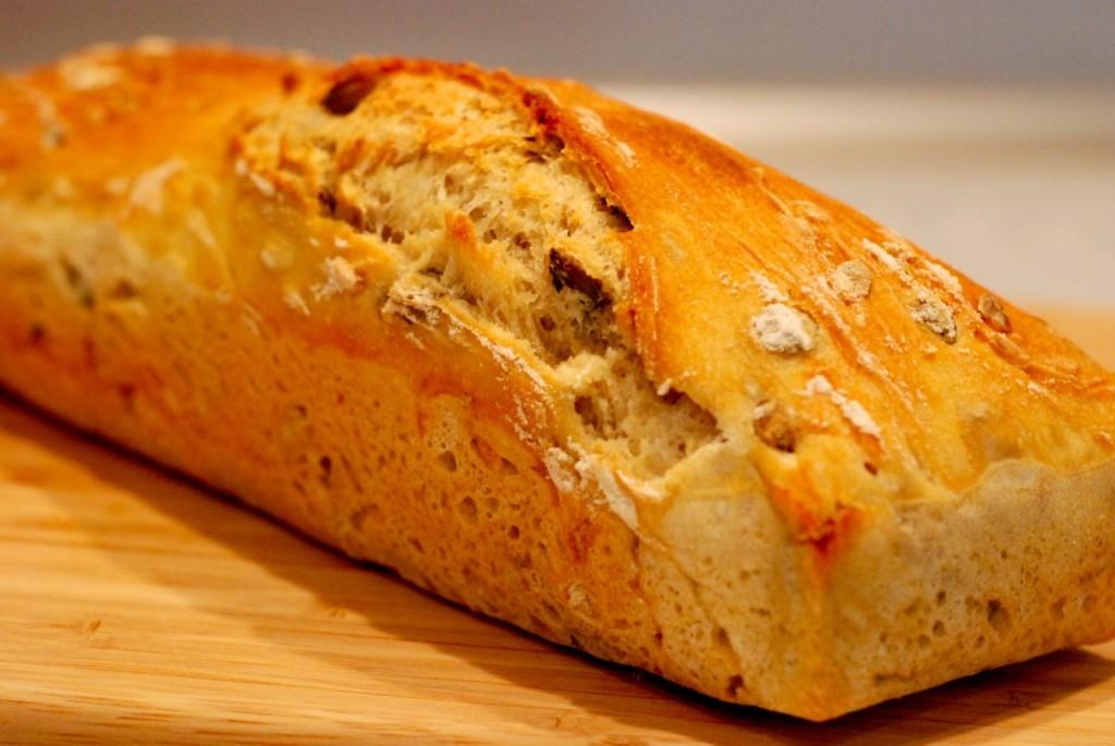 Chléb čerstvě upečený
