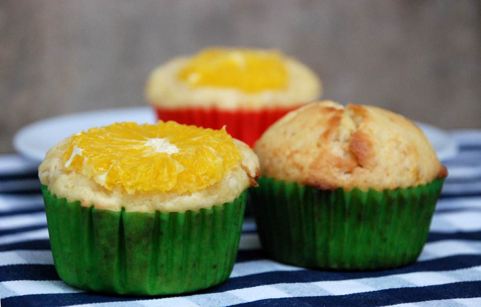 Čokoládovo-pomerančové muffiny