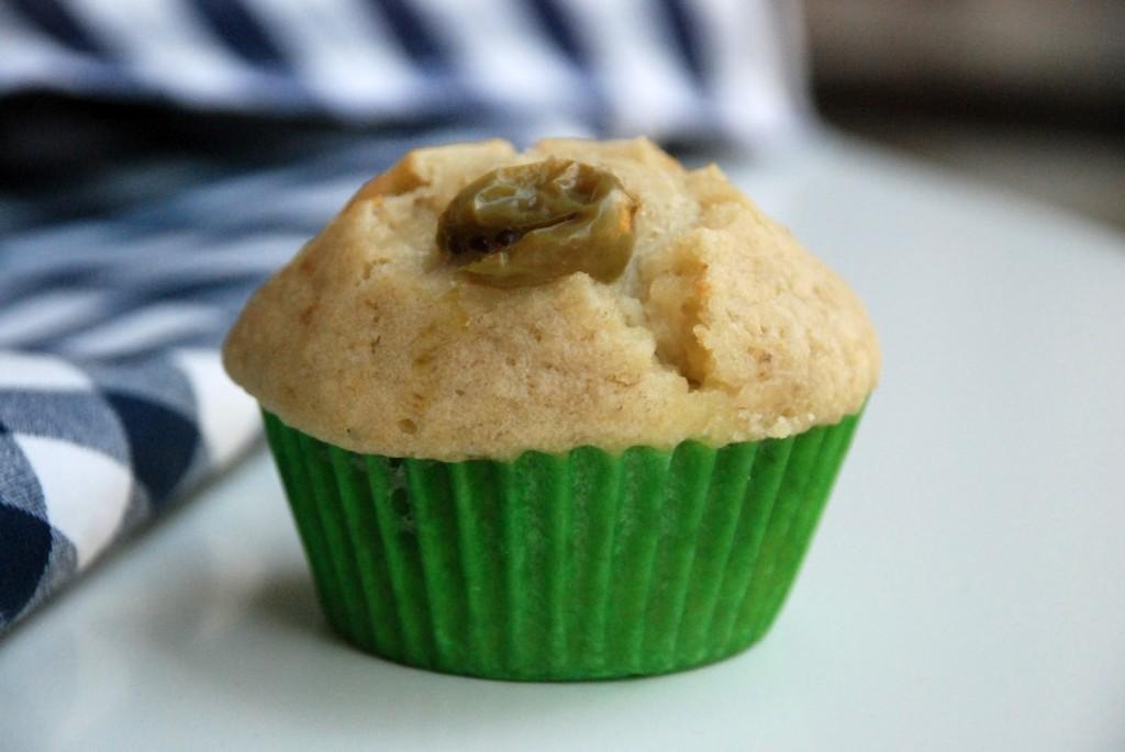 Angreštovo-bánánové muffiny