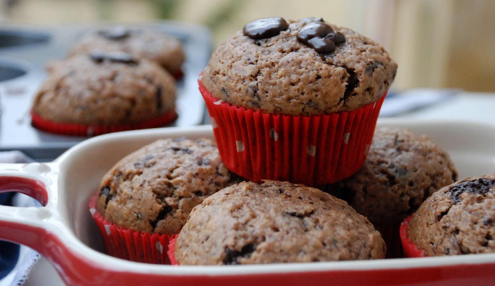 Čokoládové muffiny