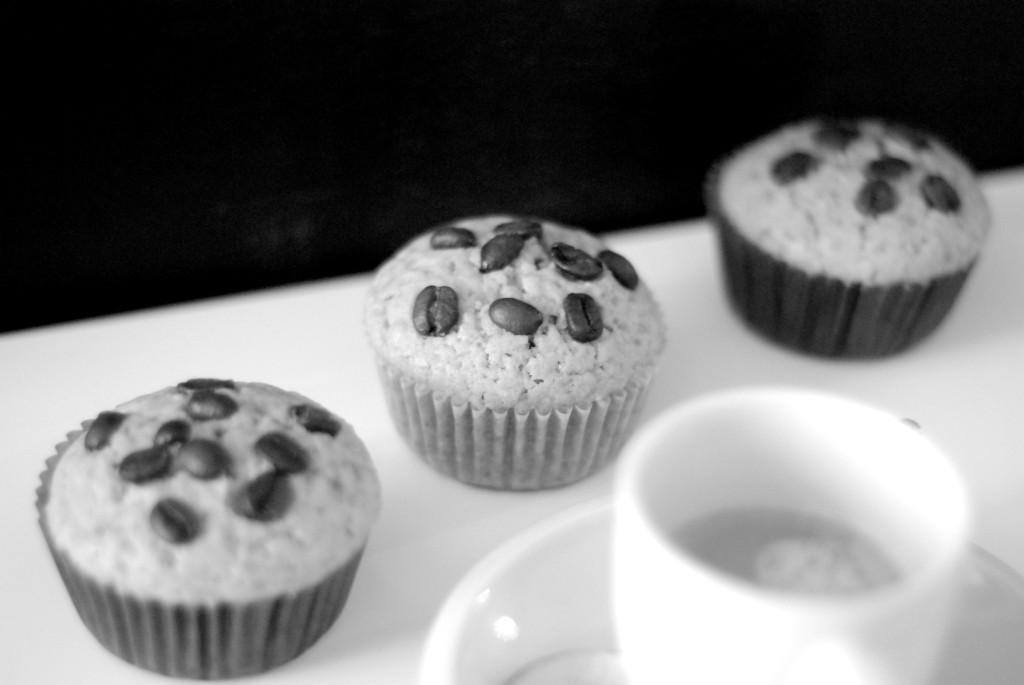 Kávové muffiny s kávou