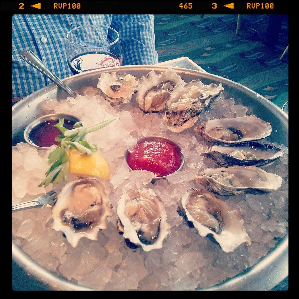 Oysters at Anthony's