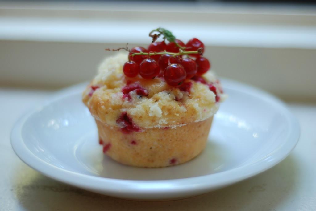 Rybízové muffiny
