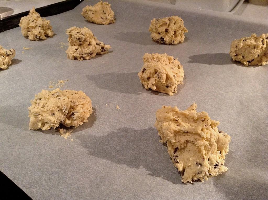 cookies na plechu