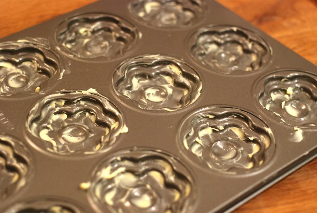 Madlenky - máslem vymazaná forma