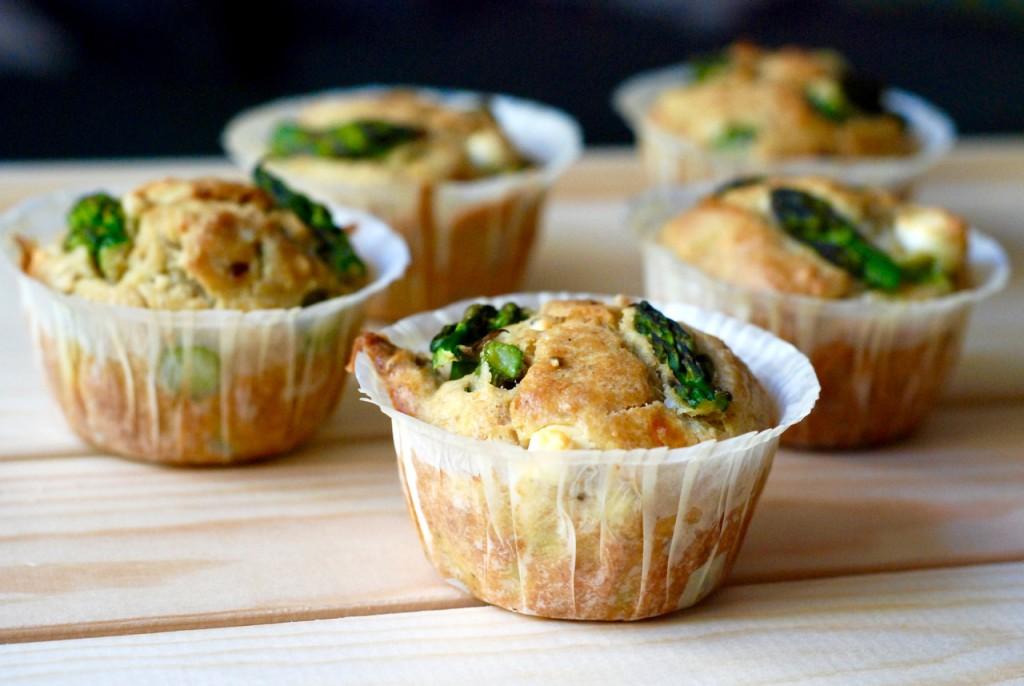 chřestové muffiny